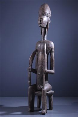 Bambara dignitary standbeeld