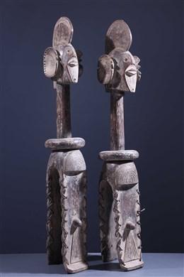 Paar Sukwava Wurkum-schoudermaskers