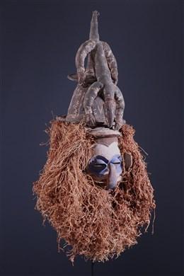 Afrikaanse kunst - Yaka Kholuka Masker