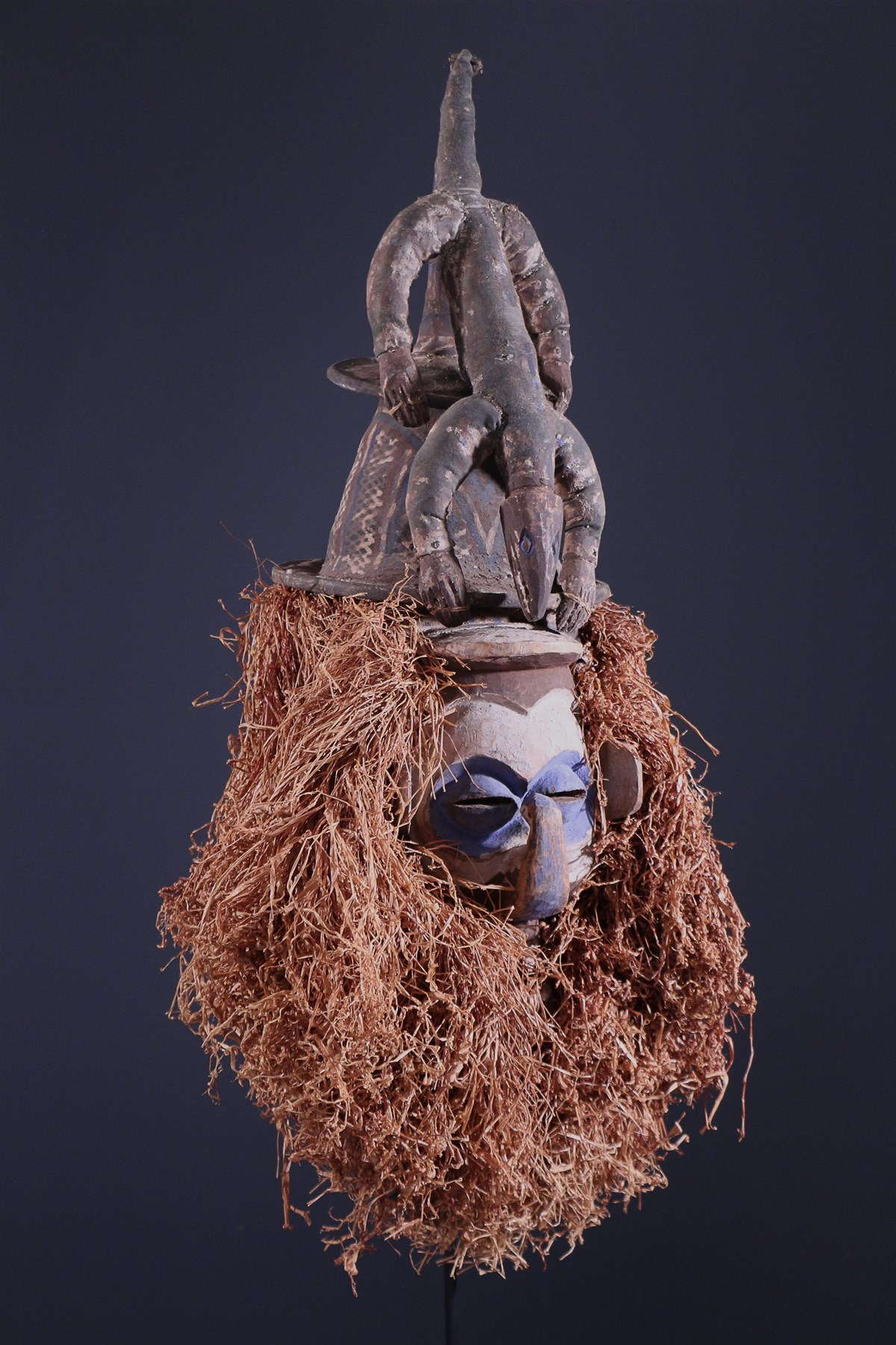 Yaka Kholuka Masker - Afrikaanse kunst