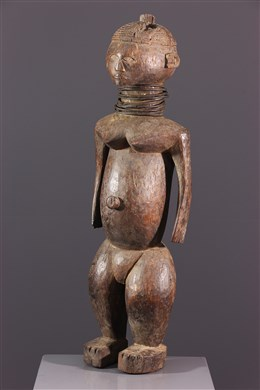 Afrikaanse kunst - Ngbaka vrouwenfiguur