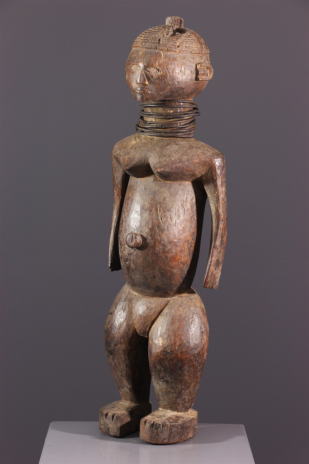 Ngbaka vrouwenfiguur - Afrikaanse kunst
