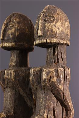 Paar beeldjes Dogon
