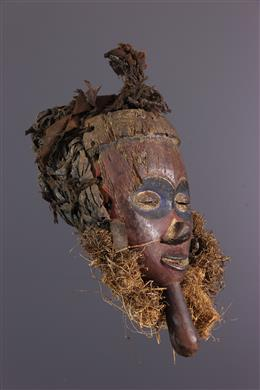 Yaka polychroom gezichtsmasker