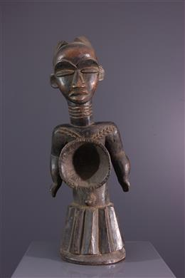 Afrikaanse kunst - Dan Lümei standbeeld Liberia