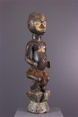Ibibio Eket wapenschild standbeeld van de Ogbom dans