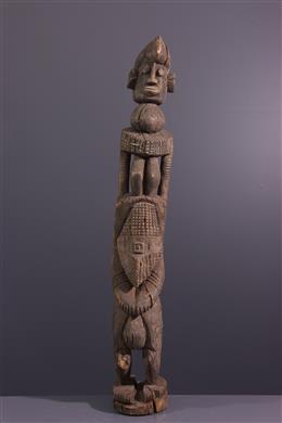 Afrikaanse kunst - Vrouwelijke figuur Dogon Dege