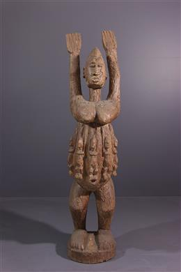 Afrikaanse kunst - Dogon Tellem figuur