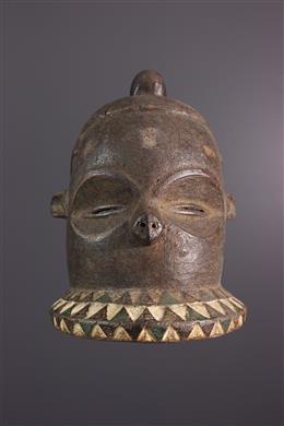 Afrikaanse kunst - Kipoko pende masker, Mbundju
