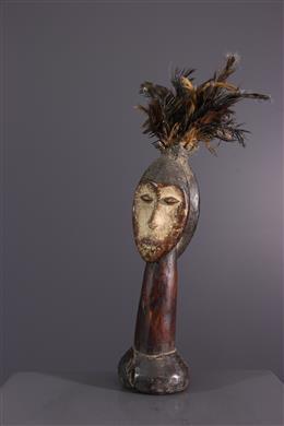 Afrikaanse kunst - Lega janiform beeldjes