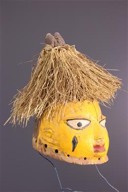 Afrikaanse kunst - Gelede is kuif masker