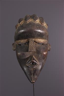 Afrikaanse kunst - Masker Bassa Gela