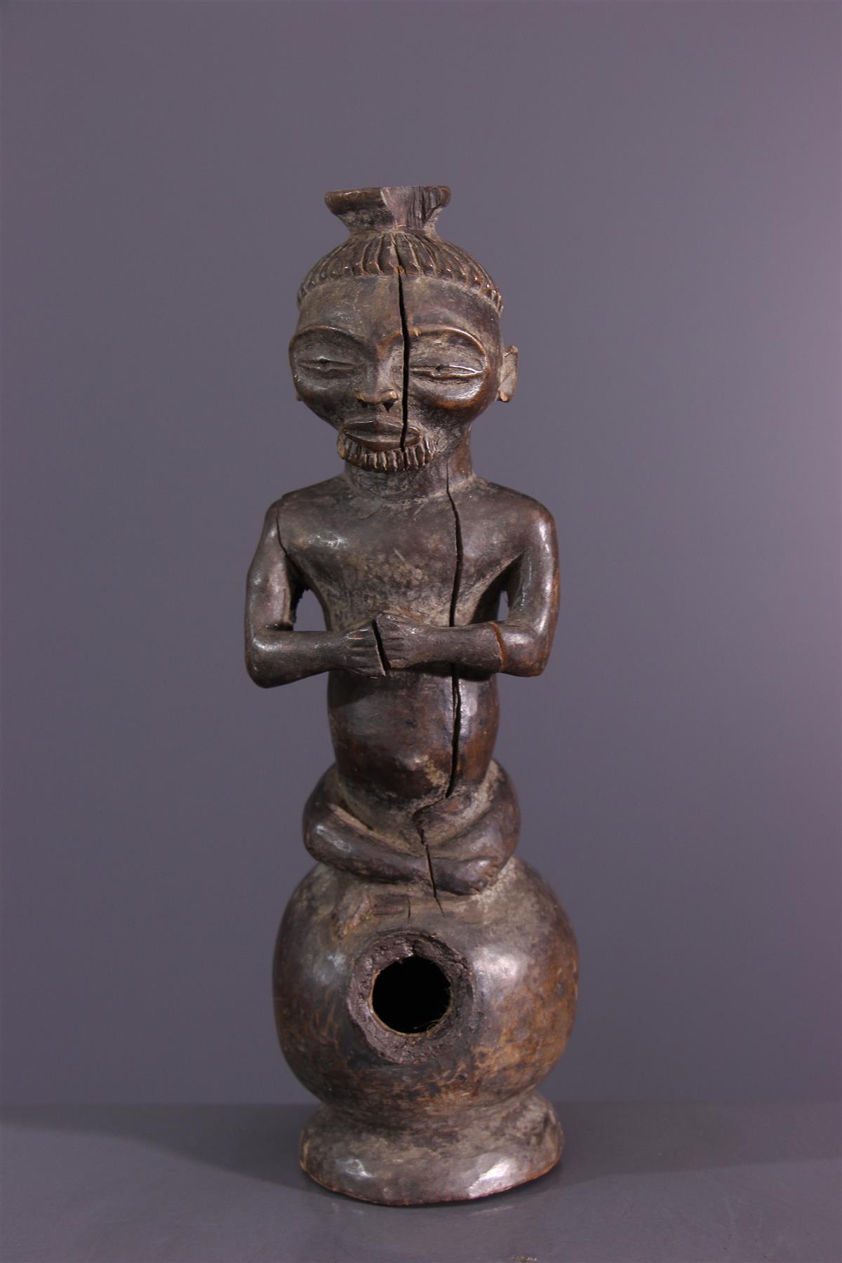 Pijp Chokwe - Afrikaanse kunst