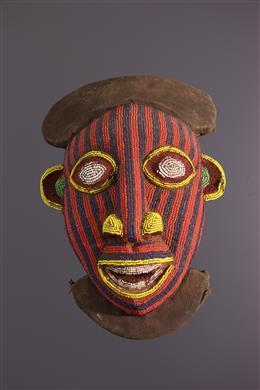 Bamoun kralenmasker