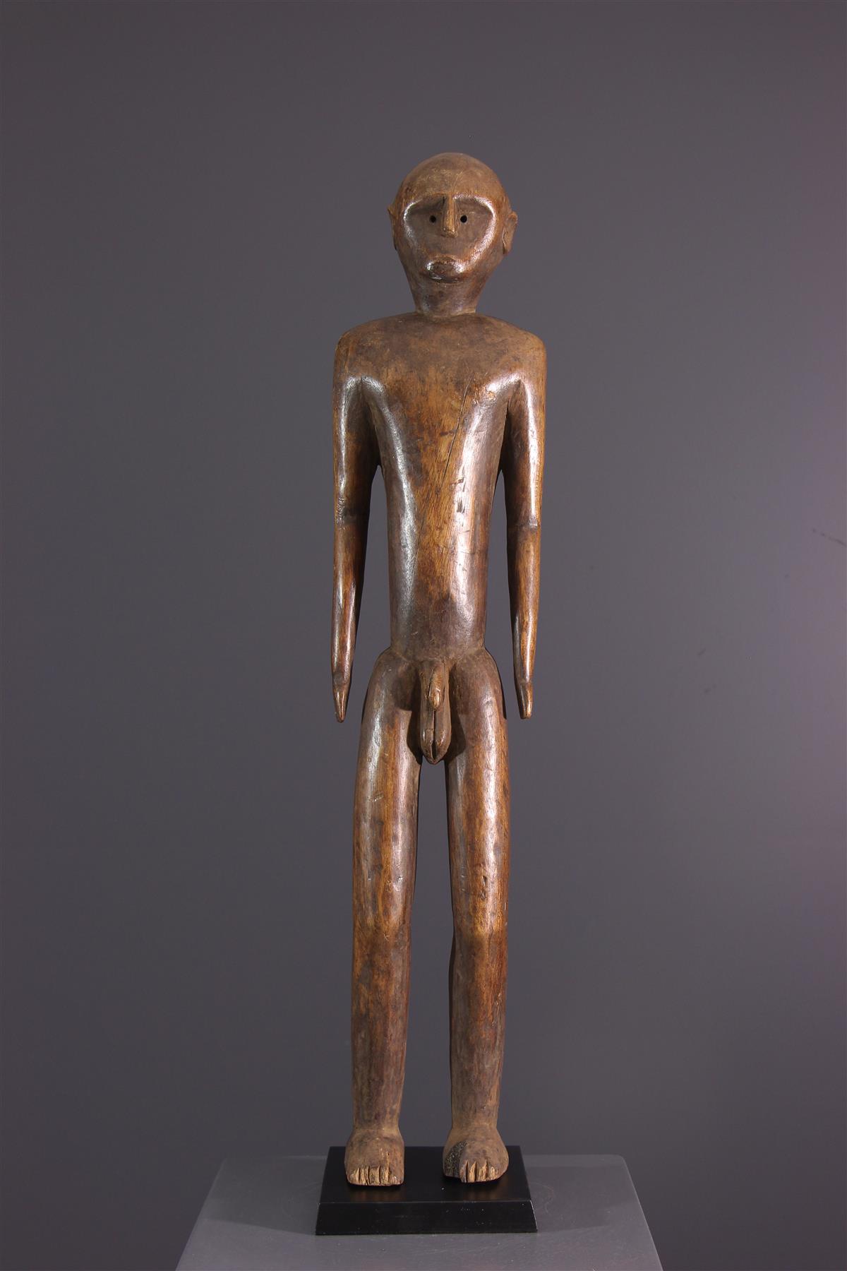 Standbeeld Nyamézi - Afrikaanse kunst