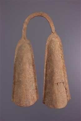 Dubbele Bamileke rituele Bell