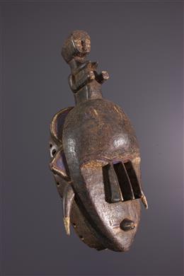 Afrikaanse kunst - Ligbi masker