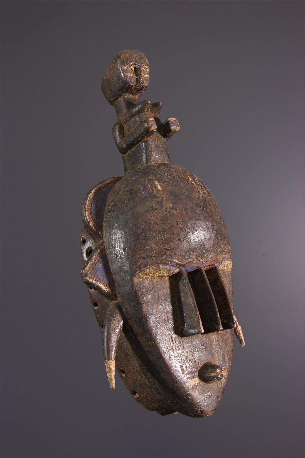 Djimini masker - Afrikaanse kunst