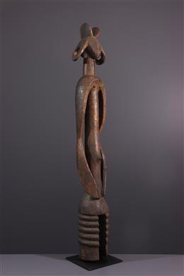 Afrikaanse kunst - Vrouwelijke figuur Mumuye