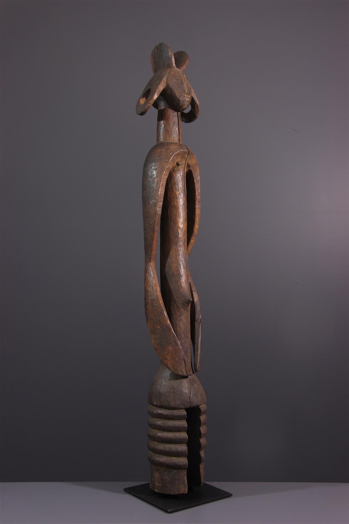 Standbeeld Mumuye - Afrikaanse kunst