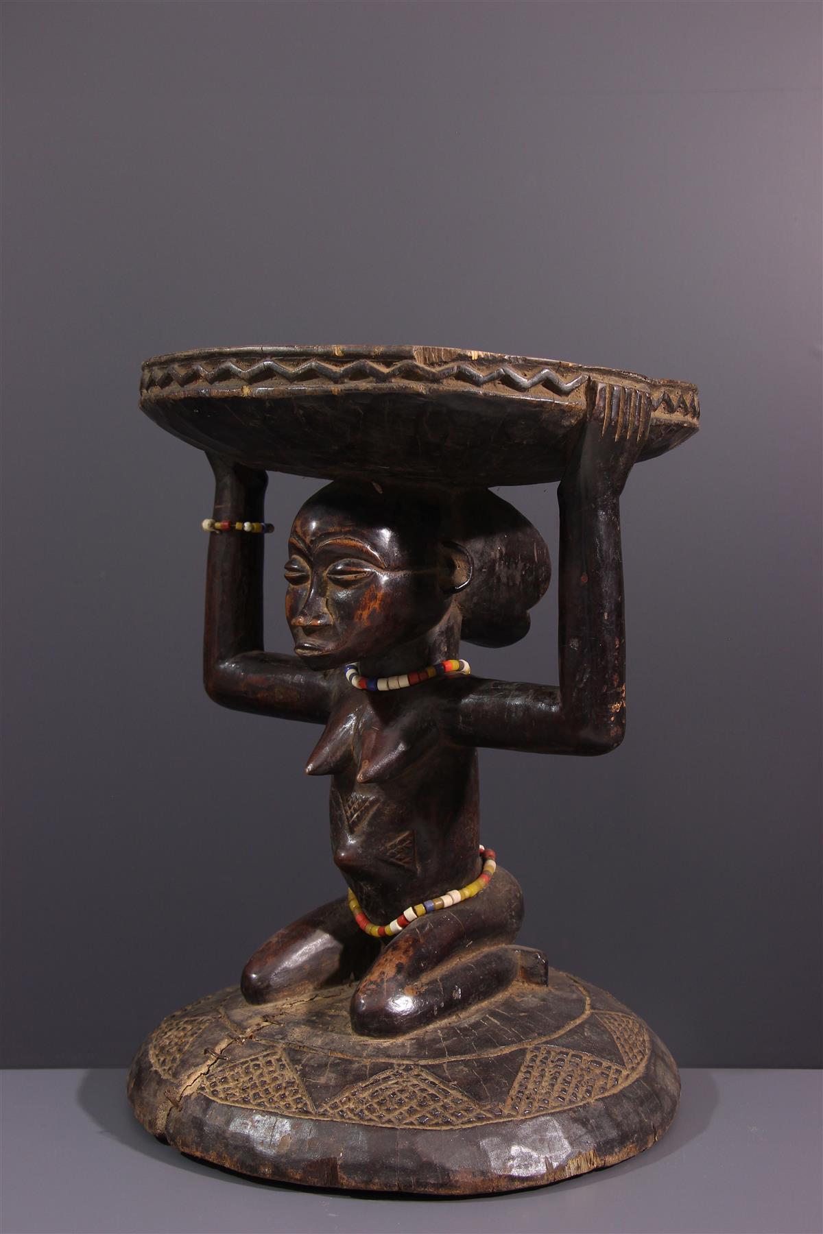Kipona Tabouret - Afrikaanse kunst