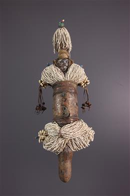 Zulu vruchtbaarheid standbeeld pop