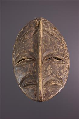 Masque Facial Kwele, Bakwele