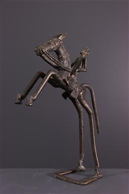 Bronzen Dogon Rider
