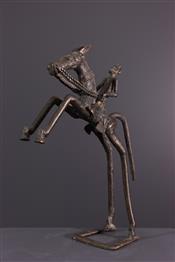 bronze africainStandbeeld Dogon