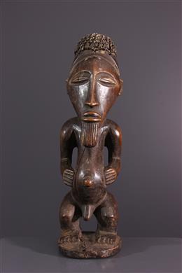 Buyu Bembe voorouder standbeeld