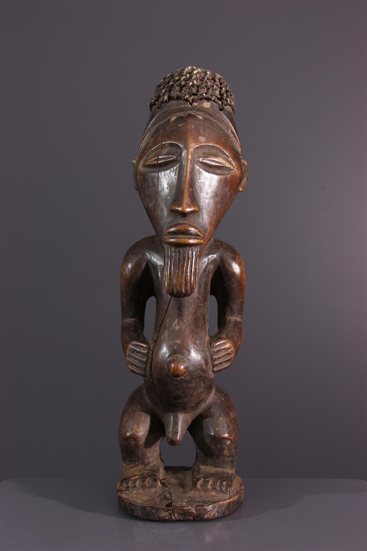 Standbeeld Bassikassingo - Afrikaanse kunst