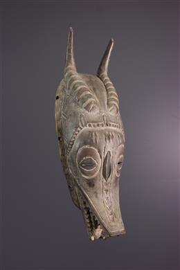 Afrikaanse kunst - Gouro Zamble masker