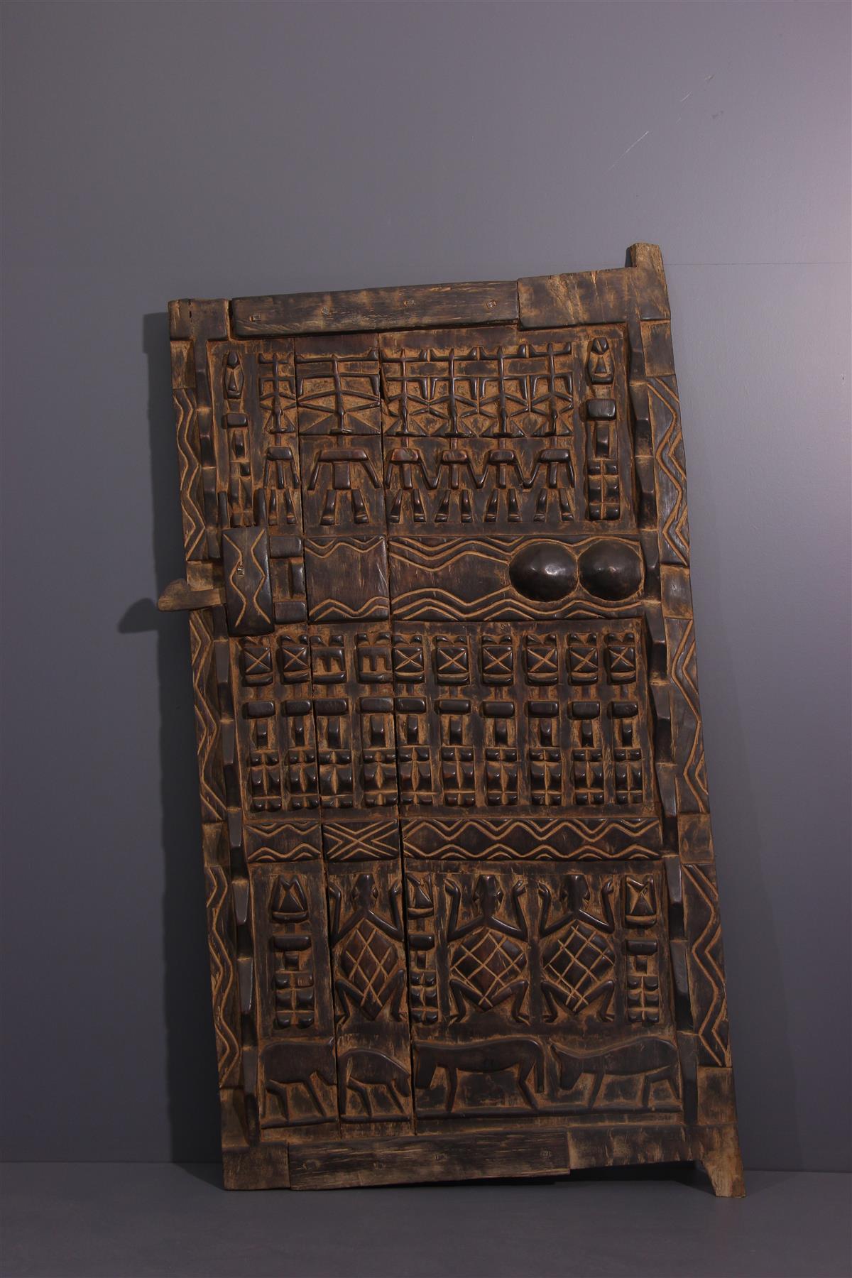 Dogon Gate - Afrikaanse kunst