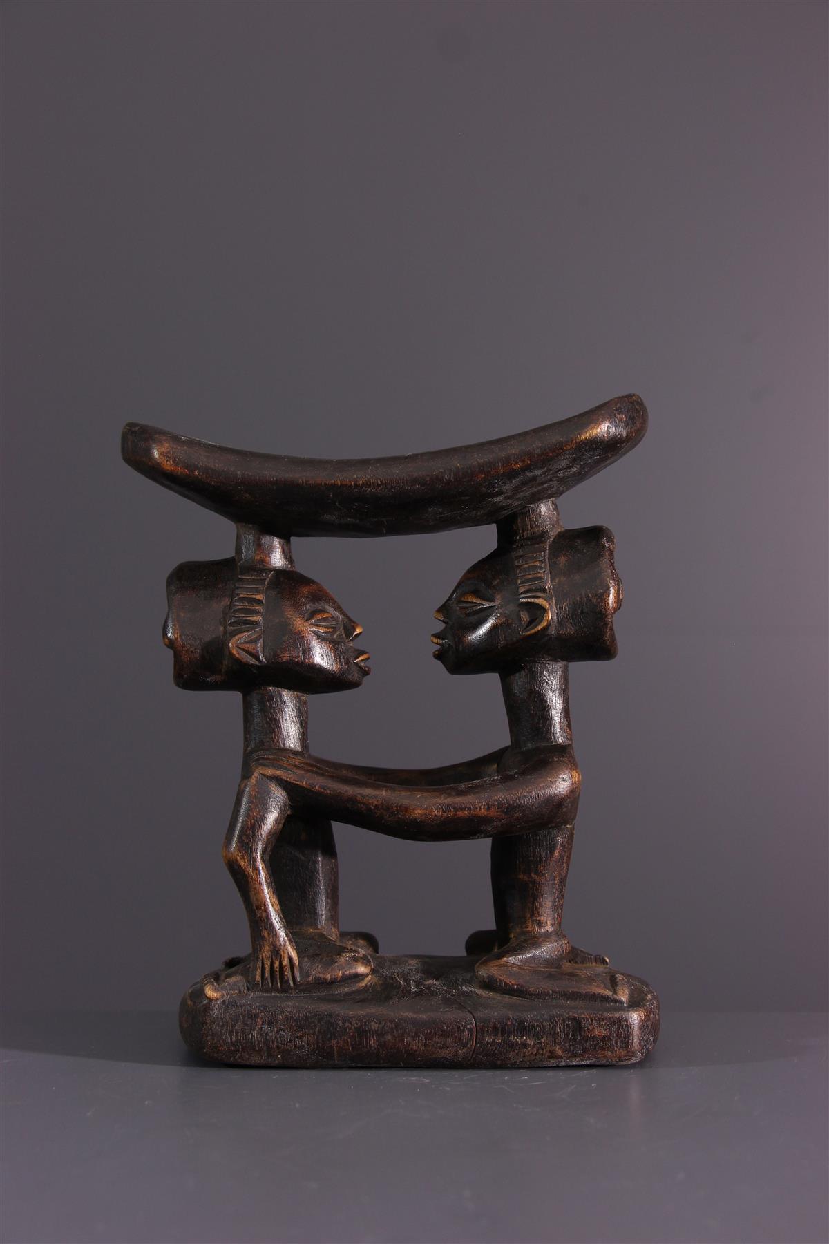 Luba Headrest - Afrikaanse kunst
