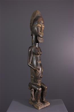 Afrikaanse kunst - Standbeeld Baule Asia Usu