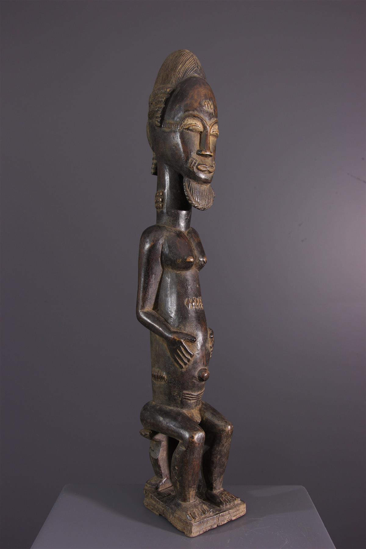 Ancestor Baoulé - Afrikaanse kunst