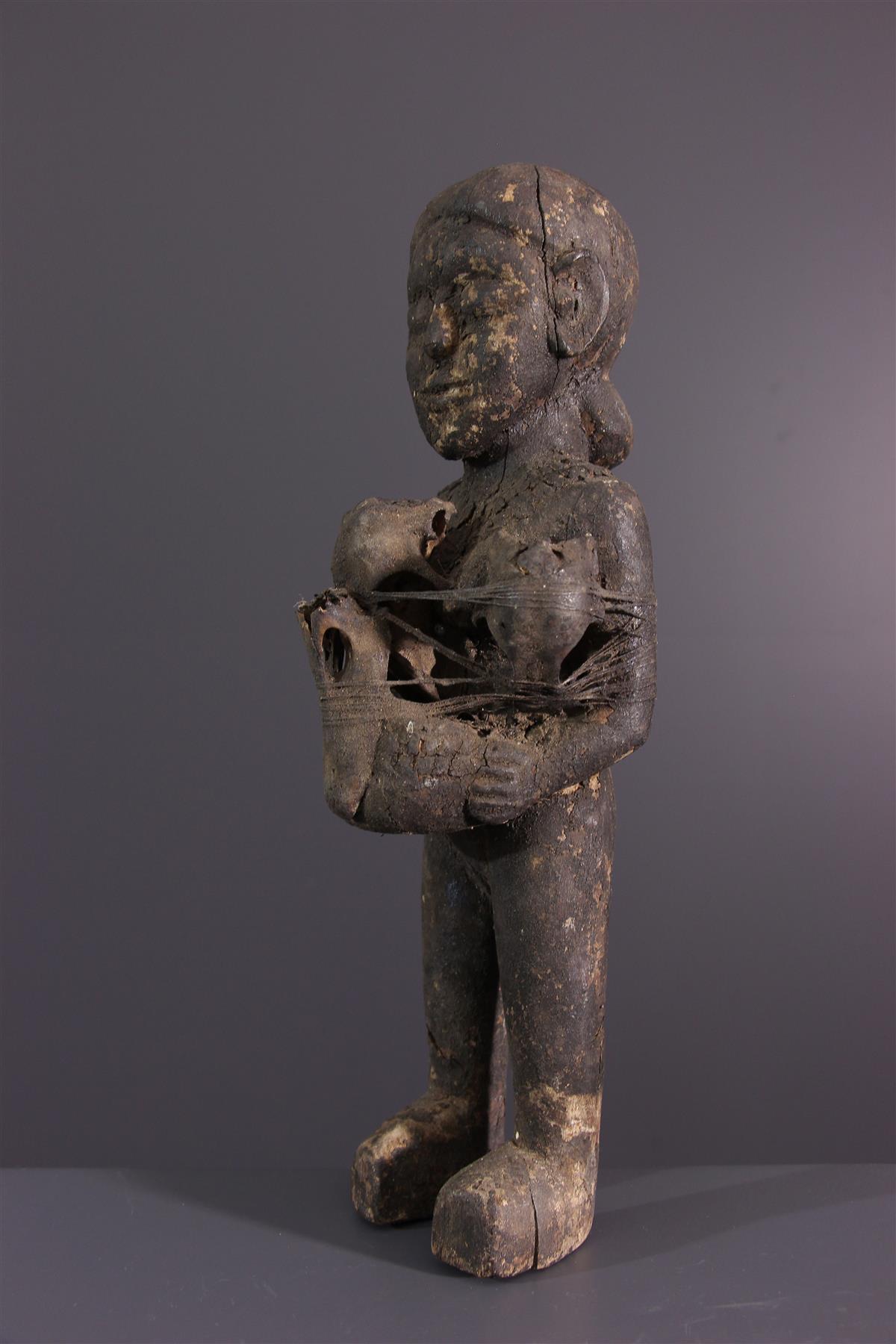 Standbeeld Ewe - Afrikaanse kunst