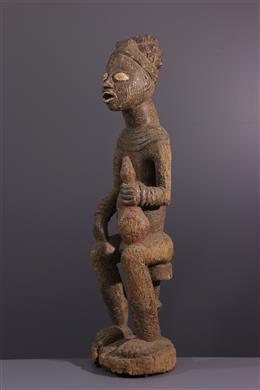 Koninklijke voorouder figuur Bangwa