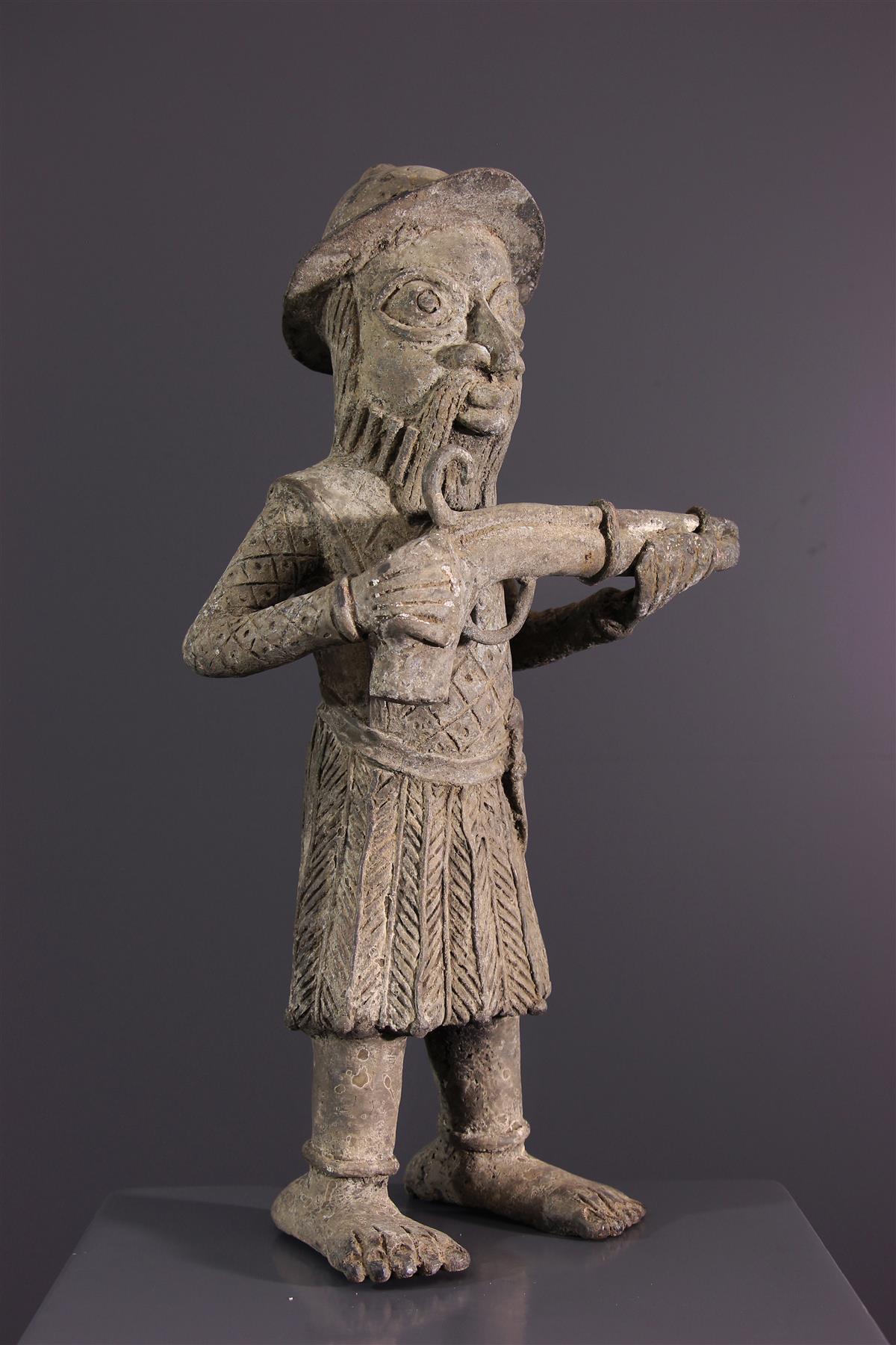 Standbeeld van Benin - Afrikaanse kunst