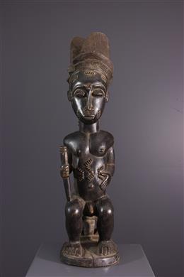 Afrikaanse kunst - Standbeeld Baule Waka Sona