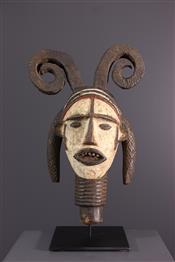 Masque africainIdoma Crest