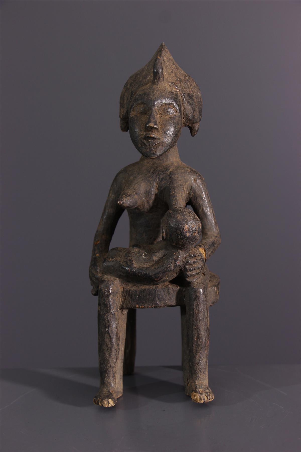 Senufo statuette - Afrikaanse kunst