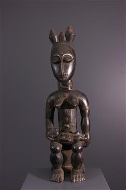 Vrouwelijke figuur Nkpasopi Akye of Abe