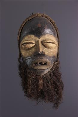 Afrikaanse kunst - Wobe masker