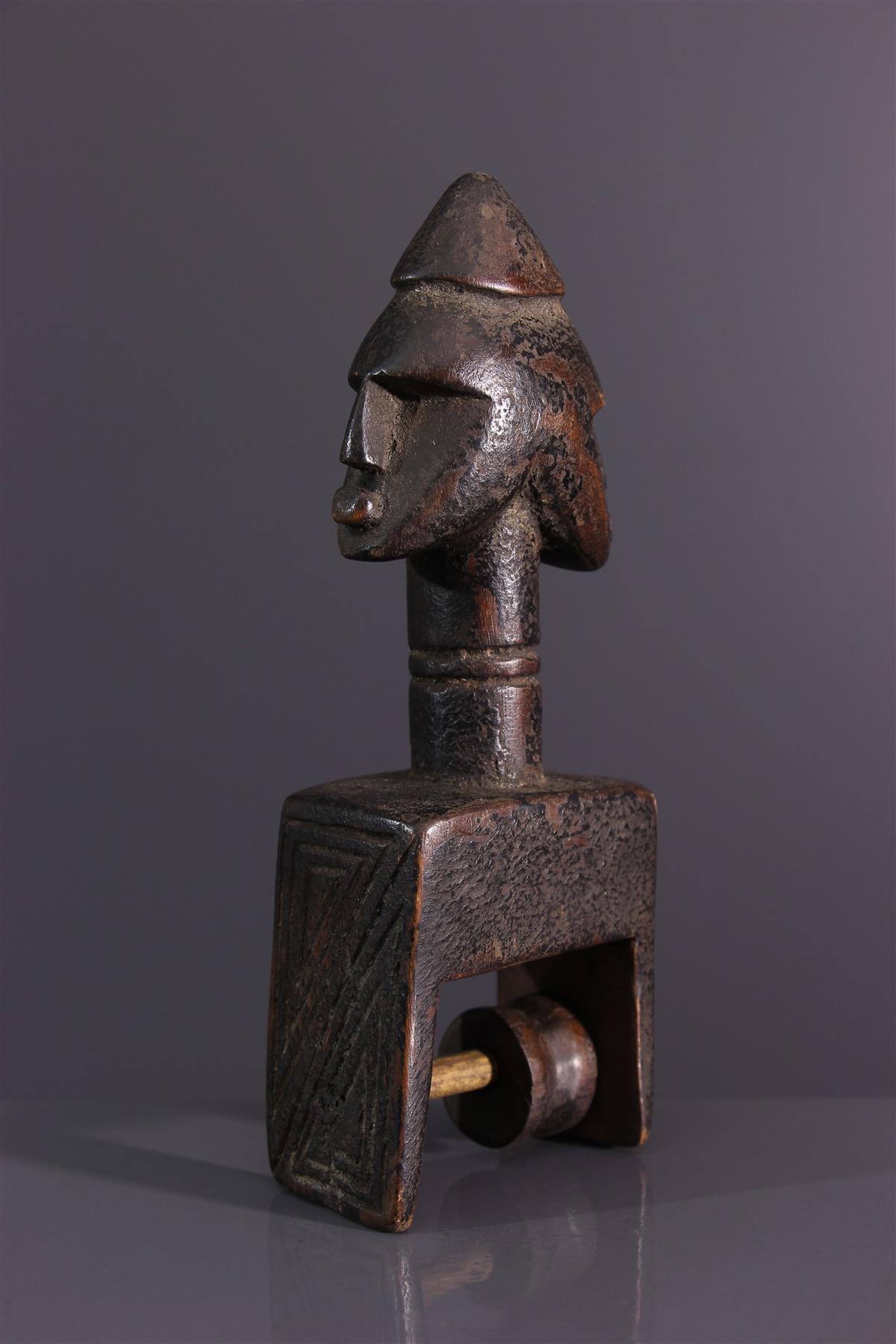 Etrier Senoufo - Afrikaanse kunst