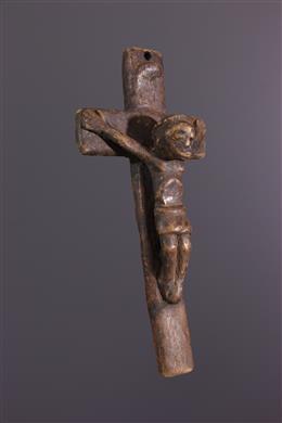 Afrikaanse kunst - Kruisbeeld Kongo Nkangi kiditu