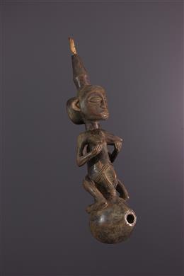 Afrikaanse kunst - Grote Luba Water pipe