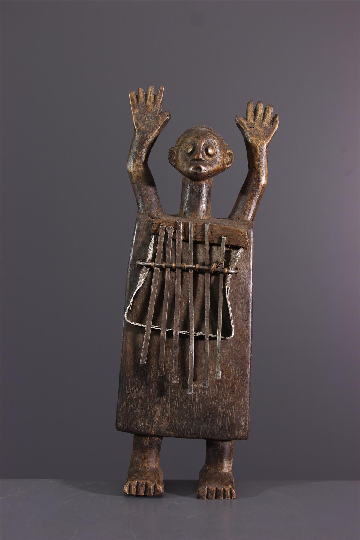 Sanza Zela - Afrikaanse kunst