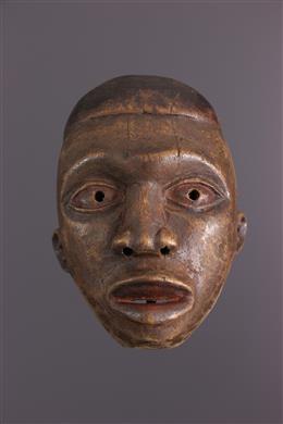 Afrikaanse kunst - Klein Kongo Yombe masker