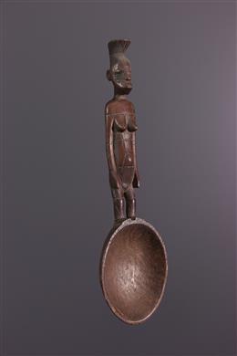 Ceremoniële lepel Mangbetu